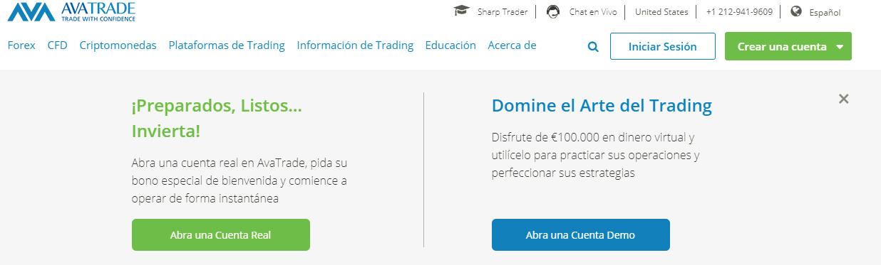 Crear cuenta demo forex